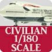 Civilian 1/180 Scale