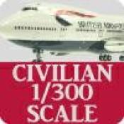 Civilian 1/300 Scale