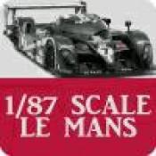 1/87 Scale Le Mans