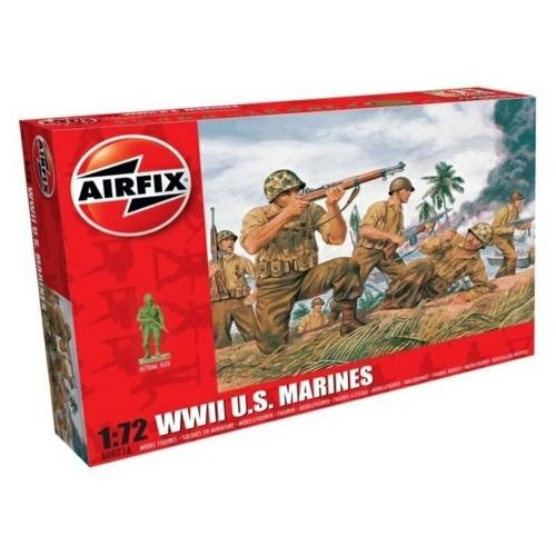 AX00716 - 1/72 WWII US MARINES (PLASTIC KIT)