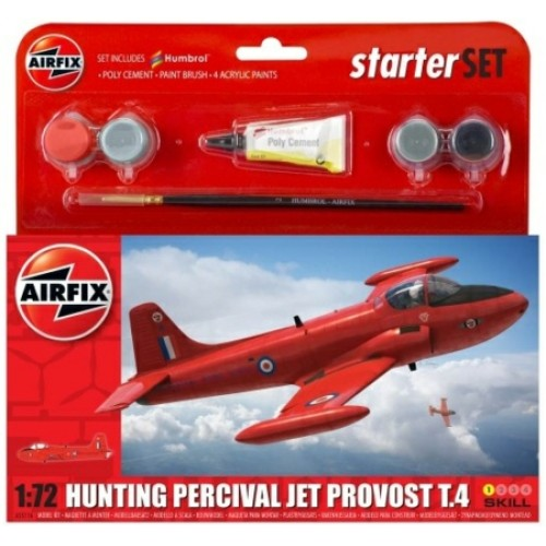 AX55116 - 1/72 HUNTING PERCIVAL JET PROVOST MODEL SET (PLASTIC KIT)