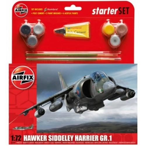 AX55205 - 1/72 HAWKER HARRIER GR1 MODEL SET (PLASTIC KIT)