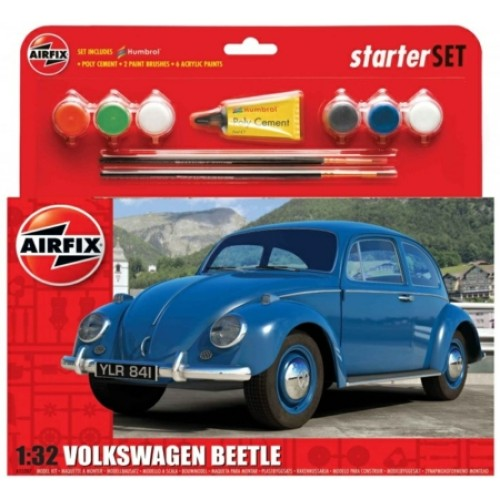 AX55207 - 1/32 VW BEETLE MODEL SET (PLASTIC KIT)