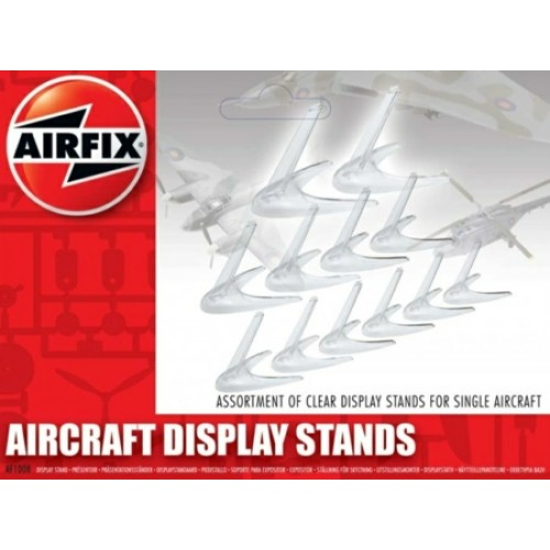AXF1008 - 1/72 ASSORTED SMALL DISPLAY STANDS