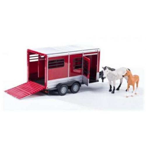 BF42846A2 - 1/16 HORSE TRAILER WITH HORSES