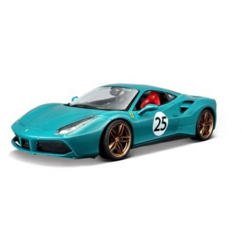 BG76101 - 1/18 FERRARI 488GTB THE GREEN JEWEL