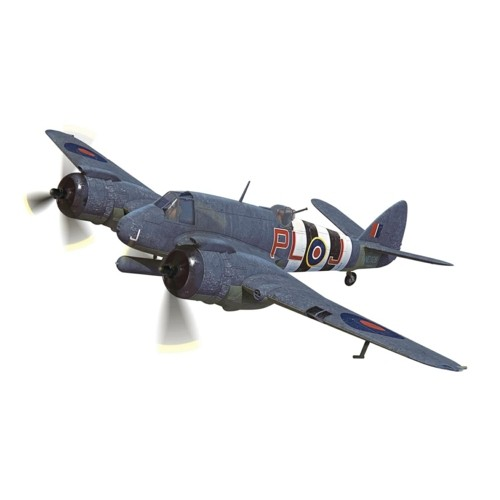 CA28601 - 1/72 BRISTOL BEAUFIGHTER TF.X - NE829/PL-J, RAF NO.144 SQUADRON, BANFF STRIKE WING, ABERDEENSHIRE, SCOTLAND, OCTOBER 1944