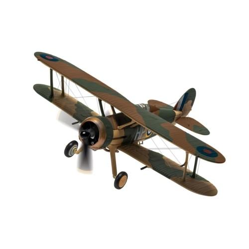 CA36212 - 1/72 GLOSTER GLADIATOR MK.II N2308 HP-B, RAF NO.247 SQUADRON, BATTLE OF BRITAIN
