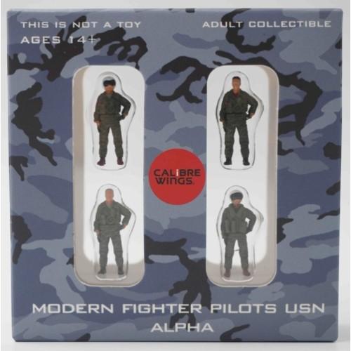 CBW72WS01 - 1/72 MODERN FIGHTER PILOTS USN ALPHA