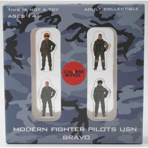 CBW72WS02 - 1/72 MODERN FIGHTER PILOTS USN BRAVO