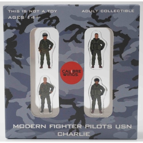 CBW72WS03 - 1/72 MODERN FIGHTER PILOTS USN CHARLIE