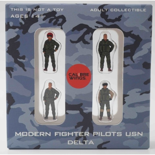 CBW72WS04 - 1/72 MODERN FIGHTER PILOTS USN DELTA
