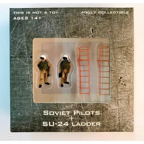 CBW72WS05 - 1/72 MODERN FIGHTER PILOTS SOVIET PILOTS AND SU-24 LADDER
