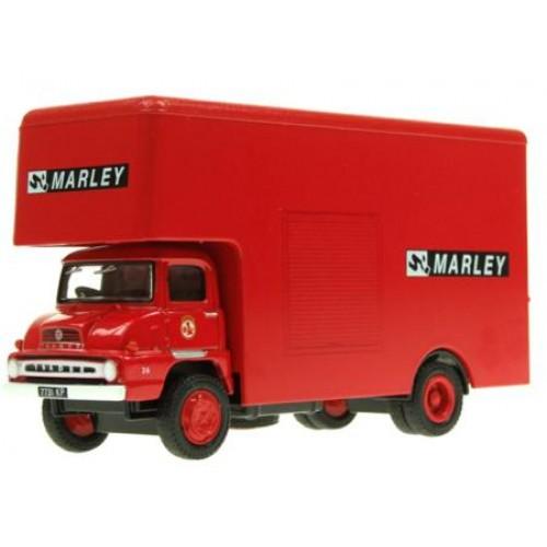E36102 - 1/76 TRADER LUTON BOX VAN MARLEY TILES