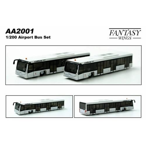 FWAA2001 - 1/200 AIRPORT BUS (COBUS3000 SET OF 2)