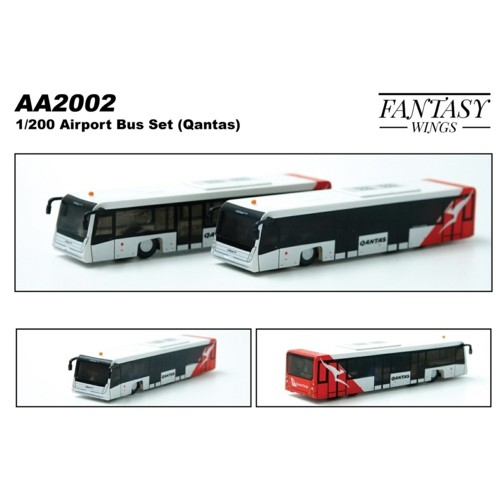 FWAA2002 - 1/200 AIRPORT BUS (QANTAS)