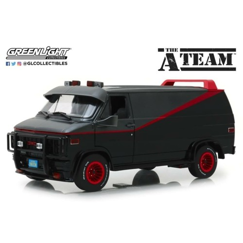 GL13521 - 1/18 GMC VANDURA THE A TEAM VAN