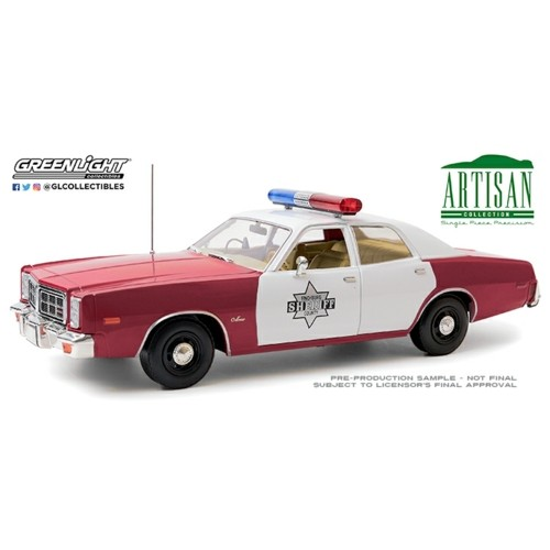 GL19097 - 1/18 ARTISAN COLLECTION - 1977 DODGE MONACO FINCHBURG COUNTY SHERIFF
