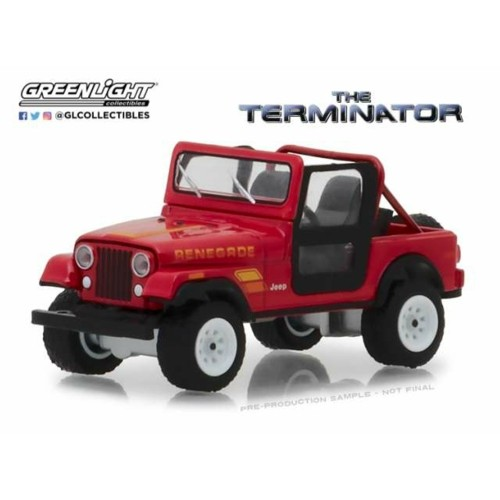 GL44810B - 1/64 SARAH CONNERS JEEP CJ-7 THE TERMINATOR 1983