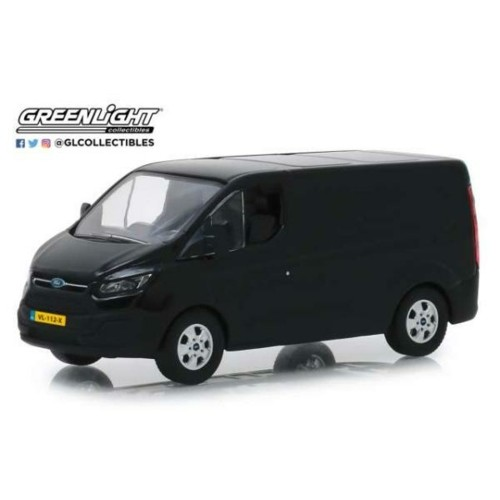 GL51095 - 1/43 2016 FORD TRANSIT CUSTOM SHADOW BLACK