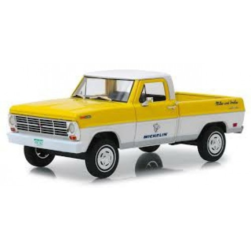 GL85023 - 1/24 FORD F-100 MICHELIN TIRES 1968 RUNNING ON EMPTY