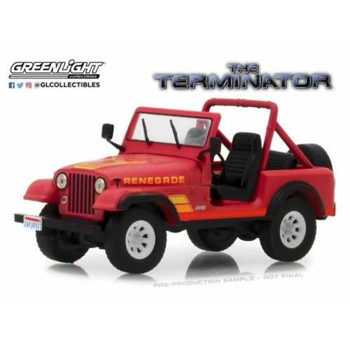 GL86533 - 1/43 1983 JEEP CJ-7 SARAH CONNER THE TERMINATOR 1984