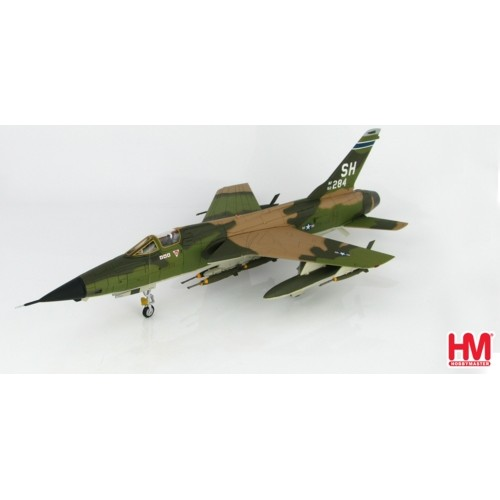HA2516 - 1/72 F-105D THUNDERCHIEF TRIPLE MIG KILLER 62-4284, 465TH TFS, AFRES, 1967