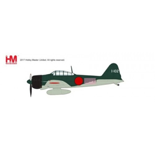 HA8803 - 1/48 JAPAN A6M2 ZERO FIGHTER TYPE 21 201ST NAVAL FLYING GROUP, FLOWN BY TETSUNZO IWAMOTO RABAUL, NOV 1943