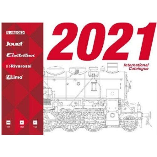HORHP2021 - HORNBY 2021 INTERNATIONAL CATALOGUE
