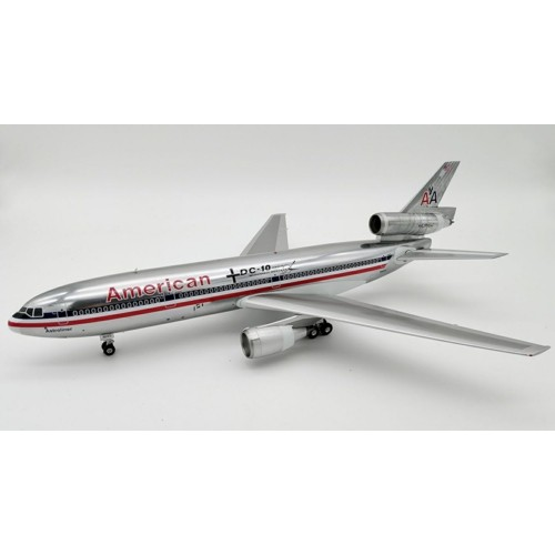 IFDC10AA0718P - 1/200 AMERICAN AIRLINES DC-10-10 N102AA POLISHED WITH STAND