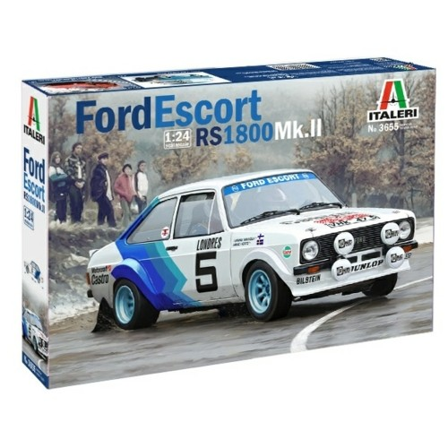 IT3655 - 1/24 FORD ESCORT RS 1800 MKII (PLASTIC KIT)