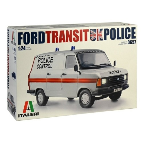 IT3657 - 1/24 FORD TRANSIT VAN MKII UK POLICE (PLASTIC KIT)