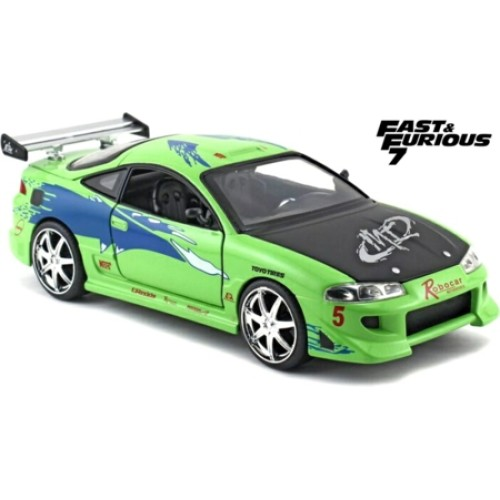JAD97603 - 1/24 BRIANS MITSUBISHI ECLIPSE FAST AND FURIOUS 7