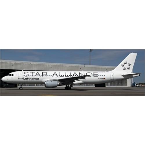 JC4075 - 1/400 LUFTHANSA AIRBUS A320 STAR ALLIANCE REG: D-AIQS WITH ANTENNA