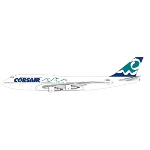 JCLH2040 - 1/200 CORSAIR BOEING 747-300 REG: F-GSEA WITH STAND