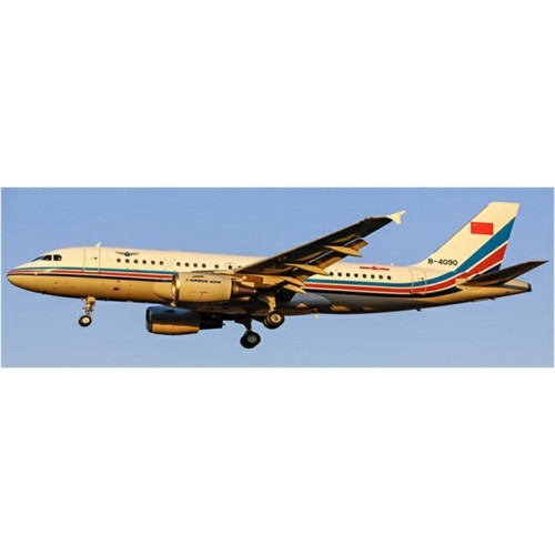 JCLH4121 - 1/400 CHINA AIR FORCE AIRBUS A319 REG: B-4090 WITH ANTENNA