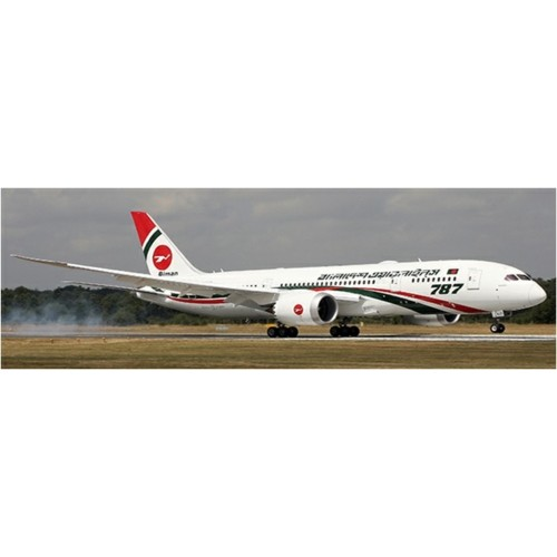 JCLH4125 - 1/400 BIMAN BANGLADESH AIRLINES BOEING 787-8 DREAMLINER REG: S2-AJS WITH ANTENNA