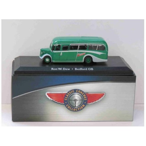 MAGBUS4642103 - 1/72 BEDFORD OB RON W.DREW GREEN/GREY