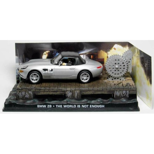 MAGDY004 - 1/43 BMW Z8 THE WORLD IS NOT ENOUGH (JAMES BOND)