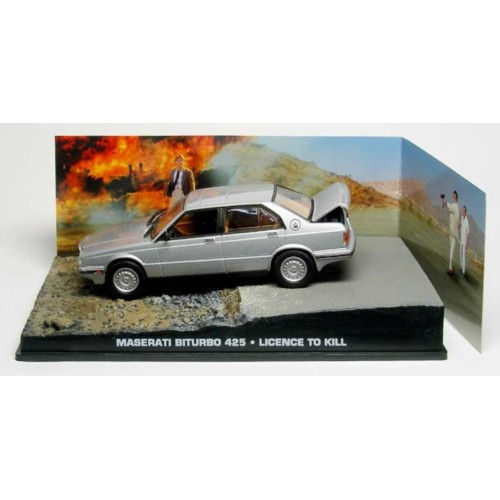 MAGDY038 - 1/43 MASERATI BITURBO 1986 - LTK (JAMES BOND)
