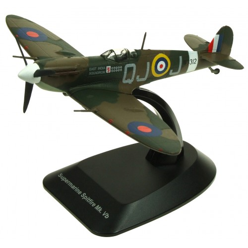 MAGFX01 - 1/72 SUPERMARINE SPITFIRE Mk Vb EAST INDIA SQUADRON W3312 BLISTER PACKED WITH DISPLAY STAND