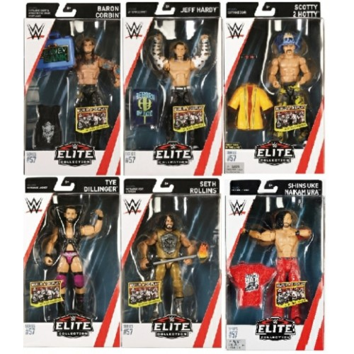 MATFTD07-966D - X8 WWE ELITE FIGURE ASSORTMENT - SERIES 57