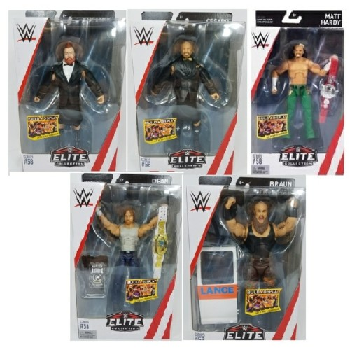 MATFTD07-966E - X8 WWE ELITE FIGURE ASSORTMENT - SERIES 58