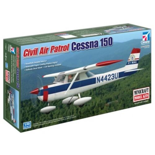 MCR11667 - 1/48 CESSNA 150 CIVIL AIR PATROL (PLASTIC KIT)