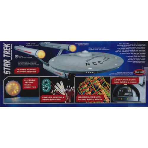 MKA007 - 1/350 USS ENTERPRISE LIGHTING KIT REQUIRES POL880