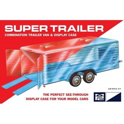 MPC909 - 1/25 SUPER DISPLAY CASE TRAILER (PLASTIC KIT)