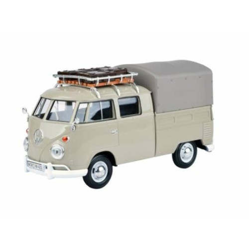 MTX79553 - 1/24 VOLKSWAGEN TYPE 2 PICKUP WITH ROOF RACK & SUITCASES