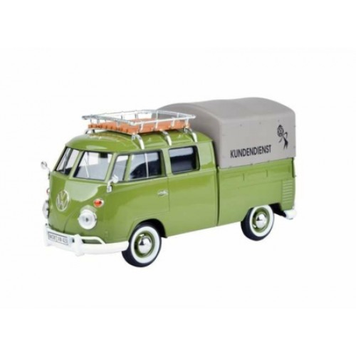 MTX79554 - 1/24 VOLKSWAGEN TYPE 2 PICKUP WITH ROOF RACK & TARAPAULINE VW KUNDENDIENST