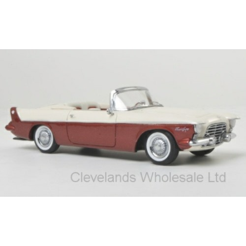 NEO46590 - 1/43 CHRYSLER FLIGHT SWEEP I WHITE/RED 1955