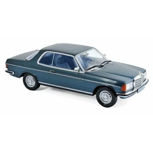 NV183589 - 1/18 MERCEDES BENZ 280 CE 1980 BLUE METALLIC